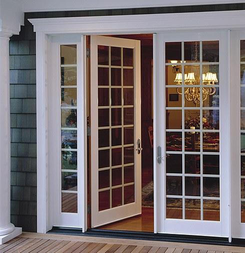 Ultra Series fiberglass in-swing French patio door