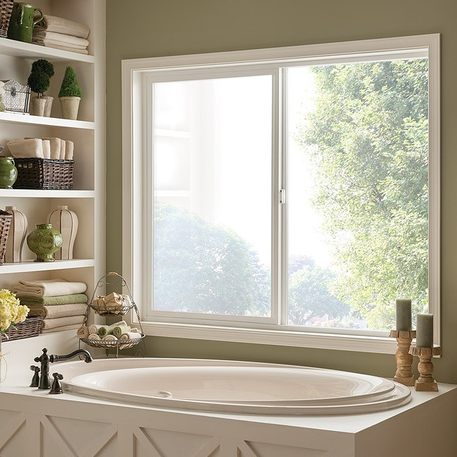 Style Line Series vinyl horizontal slider window