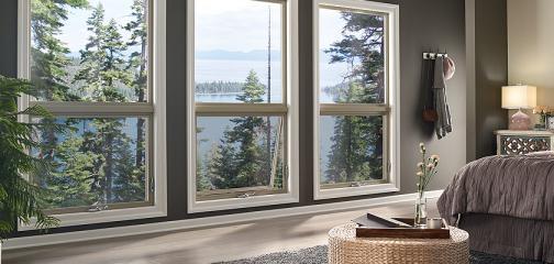 Ultra Series fiberglass awning picture windows