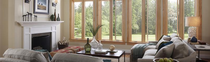 Essence Series wood casement windows