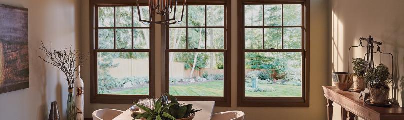 Essence Series wood double hung windows
