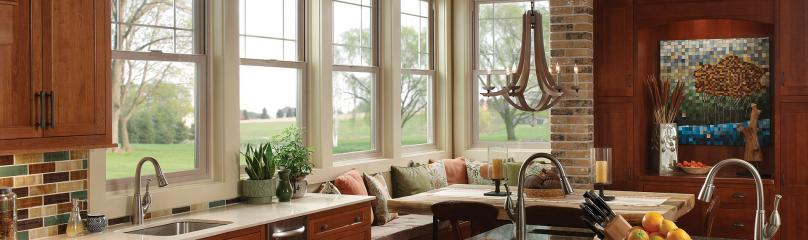 Montecito Series vinyl single hung windows