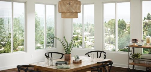 Trinsic Series vinyl horizontal sliding window