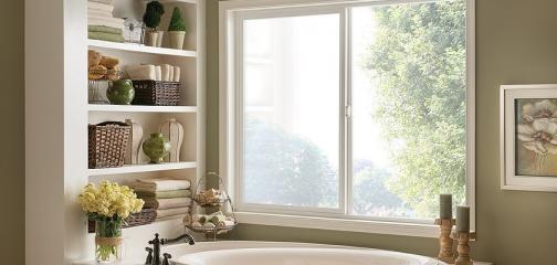 Style Line Series vinyl horizontal slider window