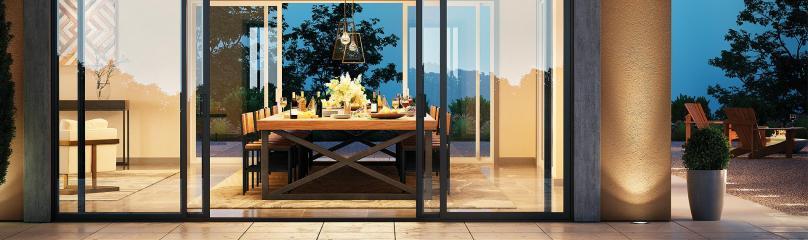 Trinsic Series vinyl sliding patio doors